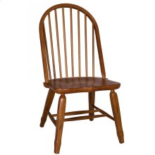 Bow Back Side Chair - Oak