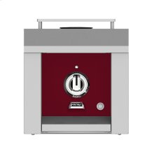 Hestan Panel, Control, Side Burner, Single, Burgundy/tin Roof