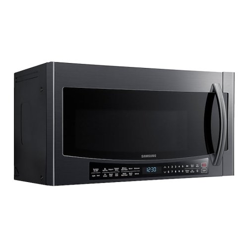 1.7 cu. ft. Over-the-Range Convection Microwave in Fingerprint Resistant Black Stainless Steel