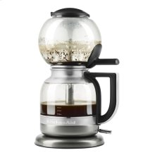 Siphon Coffee Brewer - Medallion Silver
