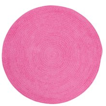 Hot Pink Chenille Creations Round