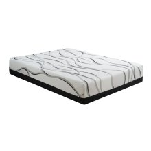"Mattress Starlight II 12""gel- Memory Foam Cal King 6/0"