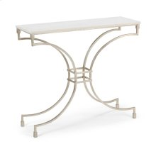 Kara Console Table - Silver
