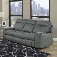 Parthenon Titanium Power Sofa