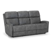Power Sofa with Power Headrest and Power Lumbar