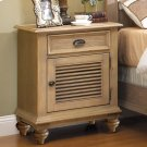 Coventry - Shutter Door Nightstand - Weathered Driftwood Finish Product Image