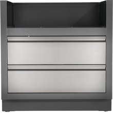 OASIS Under Grill Cabinet for Built-in Prestige PRO 500 or Prestige 500 , Grey