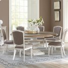 Elizabeth - Upholstered Side Chair - Smokey White Finish Product Image