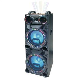 "PBX412207 B 2x12"" Portable Bluetooth Party Speaker"
