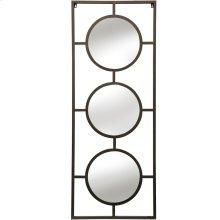 Brass Metal Wall Mirror  25in X 66in