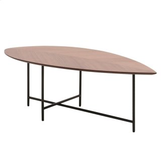 Eva KD Coffee Table, Walnut
