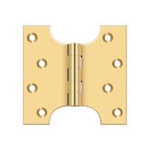 "4"" x 4"" Hinge - PVD Polished Brass"