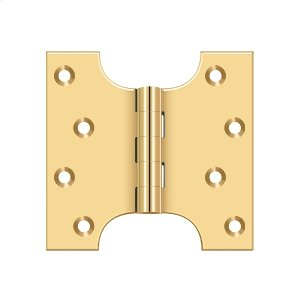 """4"""" x 4"""" Hinge - PVD Polished Brass Product Image"""