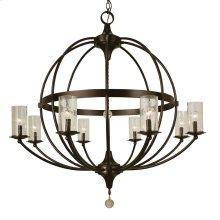 8-Light Compass Foyer Chandelier