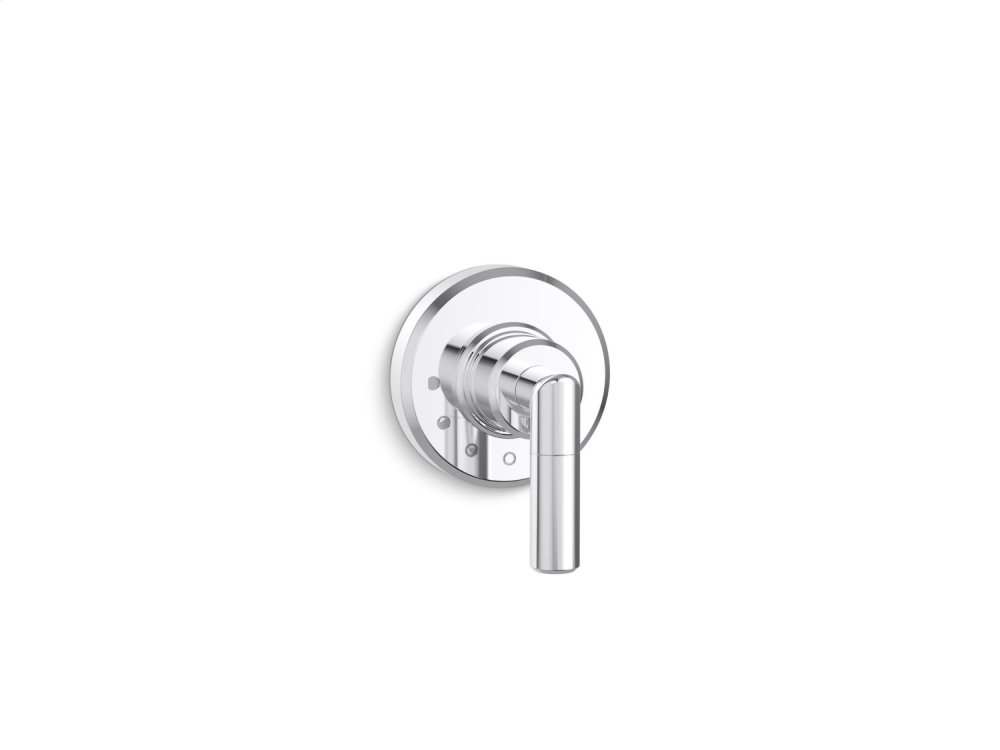 Volume Control Trim, Lever Handle - Chrome