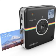 Polaroid Socialmatic 14MP Wi-Fi Digital Instant Print & Share Camera POLSMT01B, Black