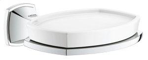 Grandera Holder with Ceramic Soap Dish Product Image