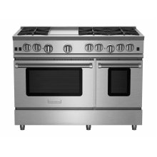 """48"""" RNB Series Range with 12"""" Griddle"""