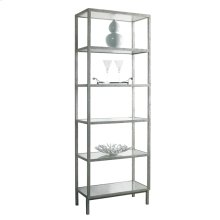 Pickford Bookcase Slim / Silver