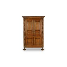 Jacobean Twist Armoire