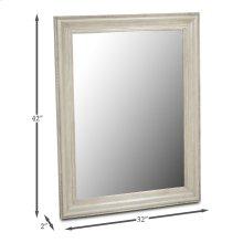 Caprice Mirror, Grey Quartz