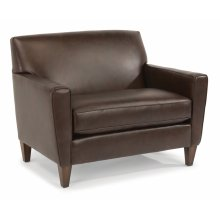 Digby Leather Chair and a Half