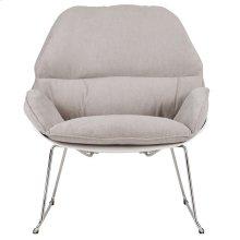 Finn Accent Chair in Light Grey