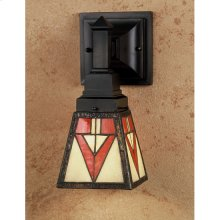 """5""""W Otero Mission Wall Sconce"""