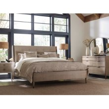 Samuel King Platform Bed 6/6 Complete