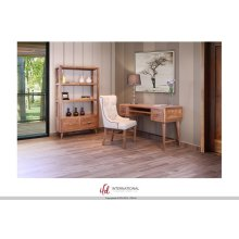 Wooden Writing Desk w/Sliding Shelf - KD System