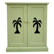 Two Door Plantation Nightstand 510
