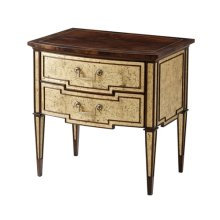 Tosca 'malborough Gold' Nightstand - Gilt Accents