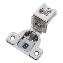 Soft Close 1-3/8 In. Overlay Face Frame Polished Nickel Hinge