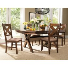 5-Pc. Kraven Dining Set - (1) 713-417 Dining Table & (4) 713-434 Side Chairs