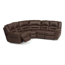 Downtown Fabric Power Reclining Sectional