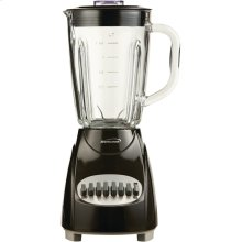 42-Ounce 12-Speed + Pulse Electric Blender with Glass Jar (Black)