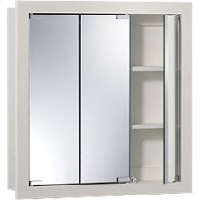 """24""""W x 24""""H - Classic White Wood Cabinet"""