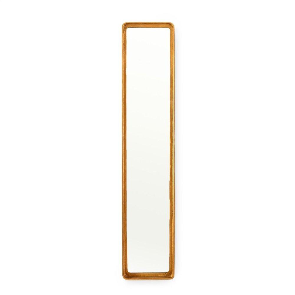 Cove Tall Mirror, Brass