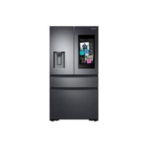22 cu. ft. Family Hub™ Counter Depth 4-Door French Door Refrigerator in Black Stainless Steel Product Image