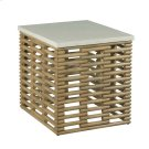 RATTAN RECT END TABLE Product Image