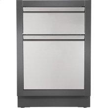 OASIS Waste Drawer Cabinet , Grey