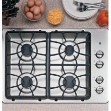 """GE® 30"""" Built-In Gas Cooktop-ONE ONLY FLOOR MODEL SN#11110Q"""