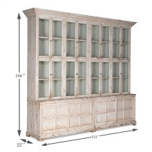 Glass Front Bookcase