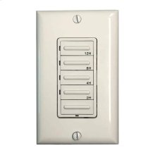 Hardwired Countdown Timer - White / Ivory / Light Almond