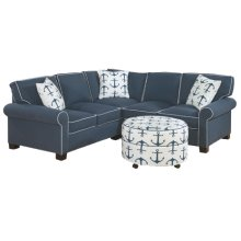 725 LSF Loveseat 725 Hex Wedge Armless Loveseat 725 RSF Angled Wedge