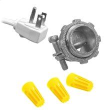 Garbage Disposal Wiring Kit for 3' Cord with Angle Plug