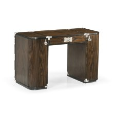 Campaign Style Dark Santos Rosewood Dressing Table