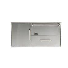 Combination Storage: Warming Drawer & Access Doors