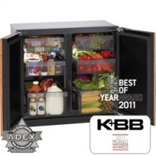 """Stainless Modular 3000 Series / 36"""" Refrigerator / Dual Zone Convection Cooling System"""