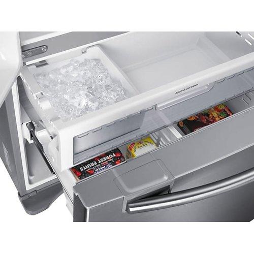 18 cu. ft. Counter Depth French Door Refrigerator in Stainless Steel